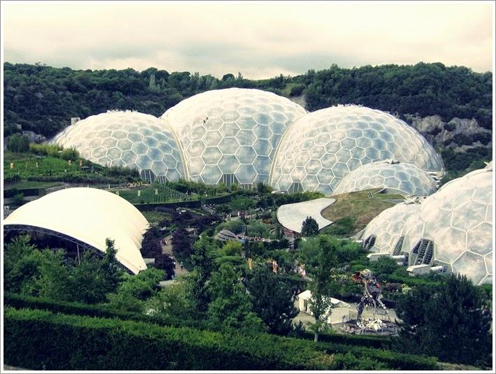 kornwalia, eden projekt, ogród botaniczny wkornwalii