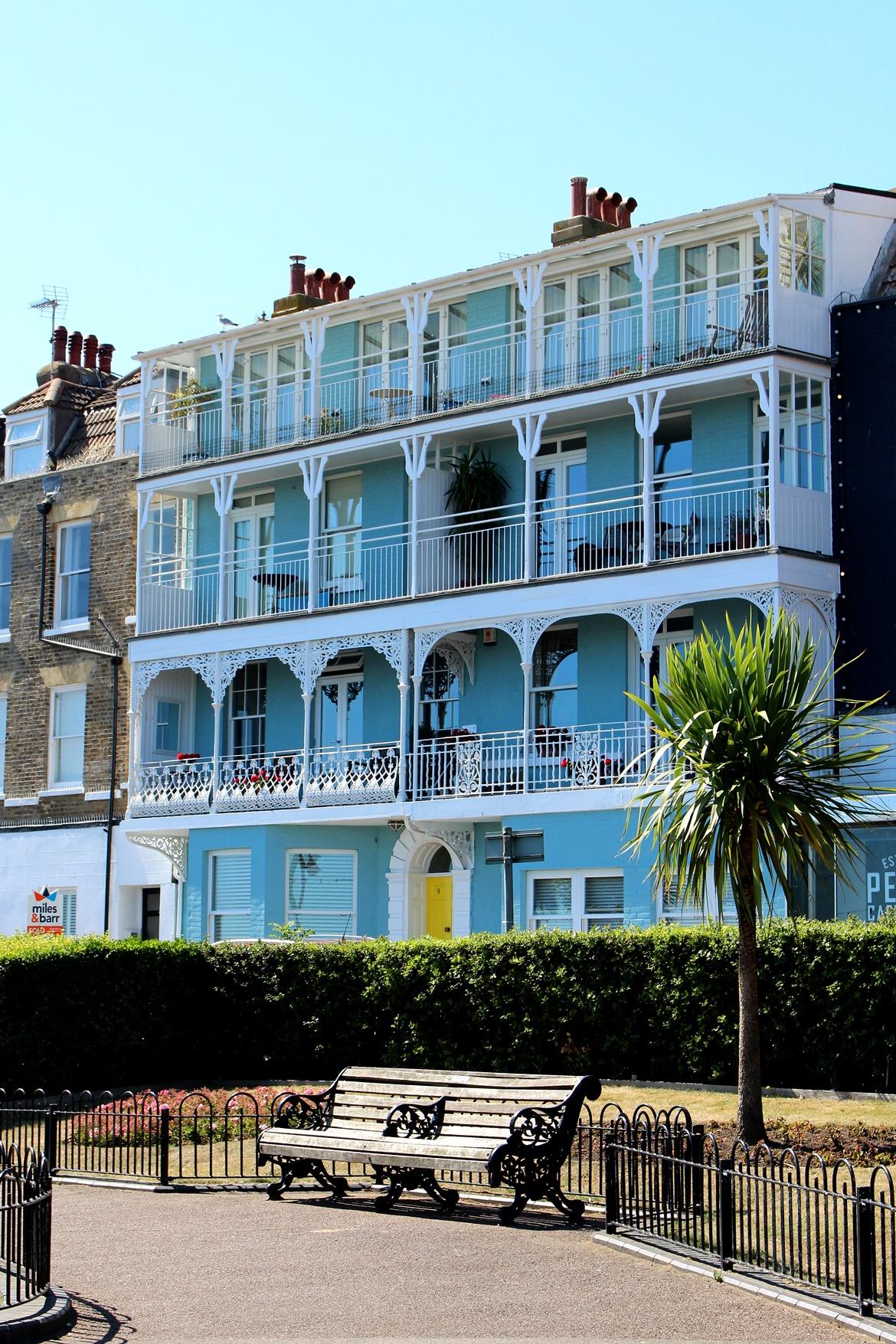 Broadstairs- najpiękniejsza plaża whrabstwie Kent