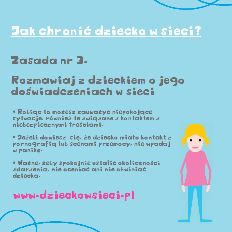 jak chronić dziecko wsieci