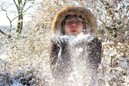 śnieg w Anglii