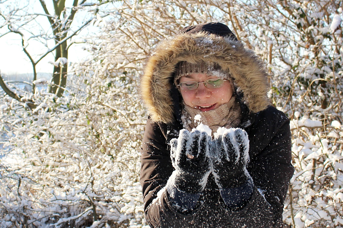 śnieg wAnglii