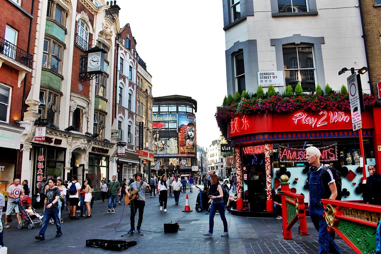 chinatown w londynie